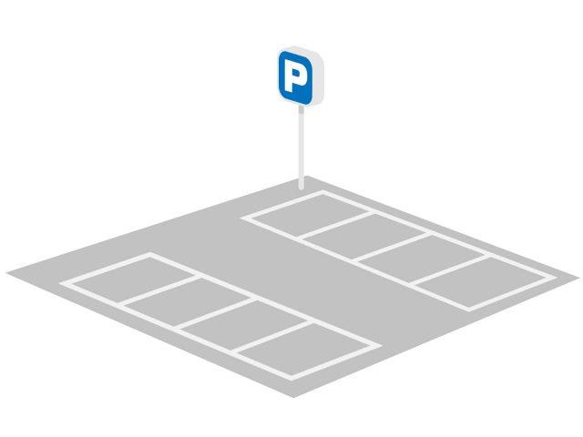 選ばれる理由ー駐車場は8台分
