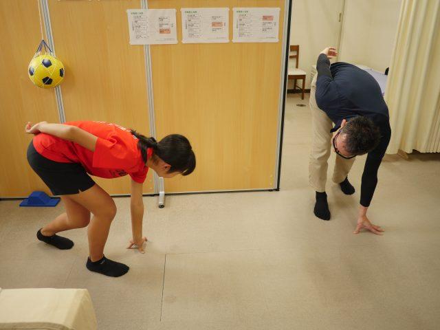 スポーツ障害に特化した接骨院ー運動指導