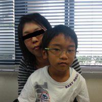 豊橋市にお住まいのYY様(男性/6歳)