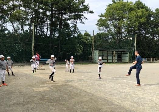 少年野球、運動指導(6月)2020