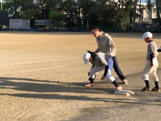少年野球、運動指導(10月)2020
