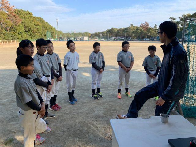 少年野球、運動指導(12月)2020