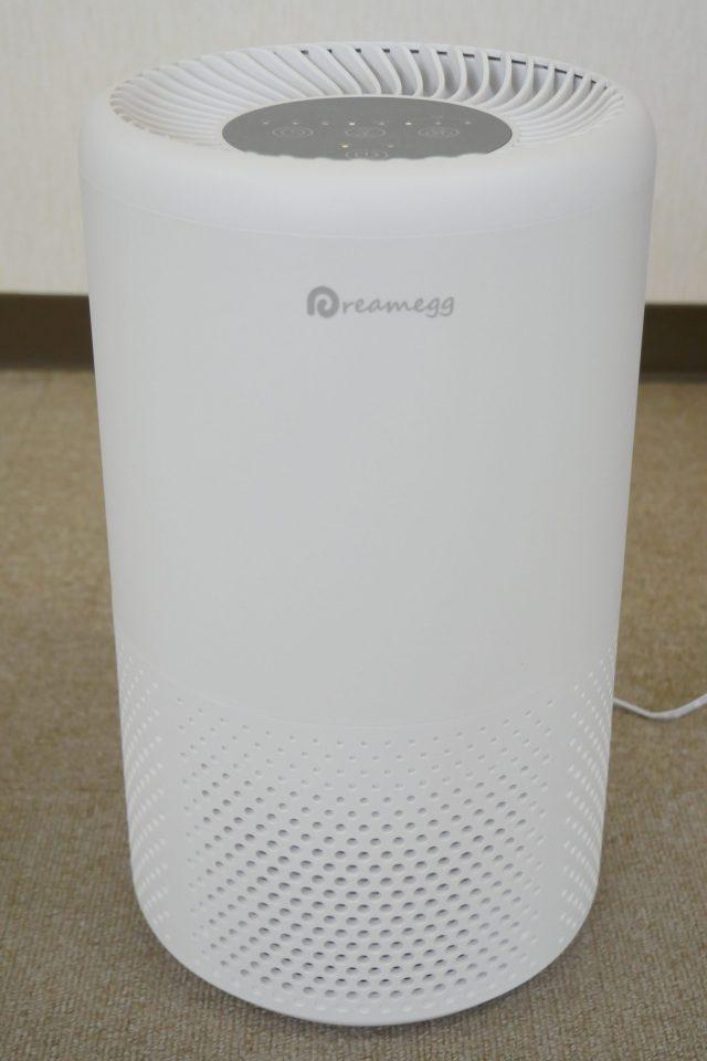 紫外線照射機能付き空気清浄機